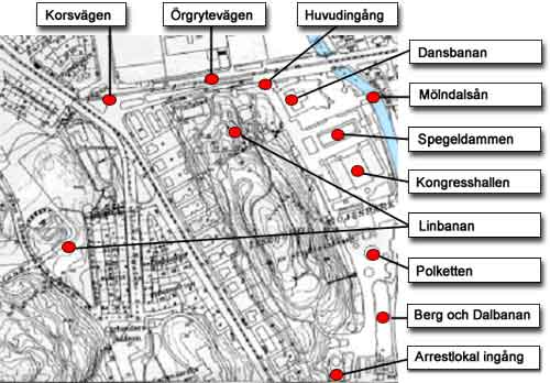 göteborg liseberg karta Olgers sidor   Göteborgsutställningen 1923 göteborg liseberg karta